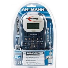 Тестер ANSMANN Energy Check LCD 4000392